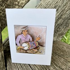 33 OBEDIENCE GREETING CARD